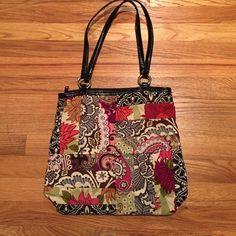 Handbag Pre-loved, looking for new home . Vera Bradley Bags Shoulder Bags