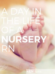 Interested in being a NICU or nursery nurse?  Click through to find out what a typical shift is like when you are caring for the tiniest patients!