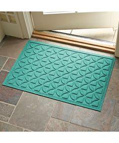 Aquamarine Heritage Aqua Shield Doormat | zulily