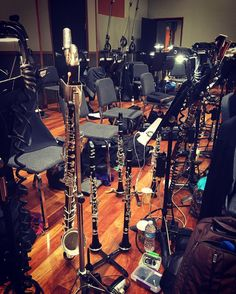 tools of the #music trade @bmi #bmi #conducting #workshop #conductor @jermainestegall #studio #jermainestegall #highwinds #reeds