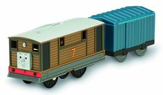 Amazon.com: Fisher-Price Thomas the Train - TrackMaster Toby & Cargo Car: Toys & Games