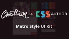 CSS Author Free UI Kits
