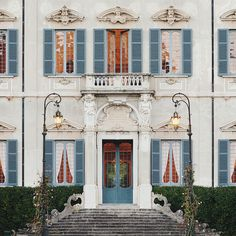 Travel Inspiration | Places: La Villa Sola Cabiati -- a glimpse of architectural and historical splendour of this boutique hotel on Lake Como
