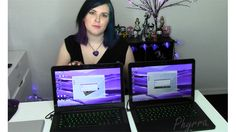 2015 and 2014 New Razer Blade Laptop Comparison, a benchmark comparison between the Nov. 2014 model and Feb. 2015 model. Gaming and video editing laptops