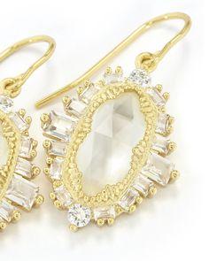 Kapri Drop Earrings in Gold - Kendra Scott Jewelry.
