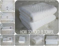 Organizing: The Linen Closet - KonMari - Bathroom Towel