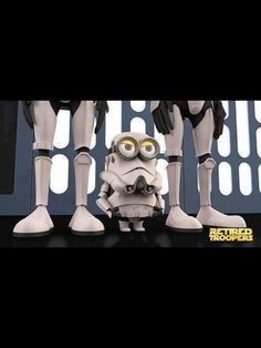 """It's all cute until Leia asks the inevitable, """"Aren't you a little short for a stormtrooper?"""" Doh!"""