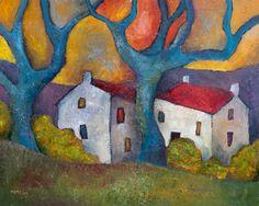 Blue Tree Houses by Jeremy Mayes♥♥