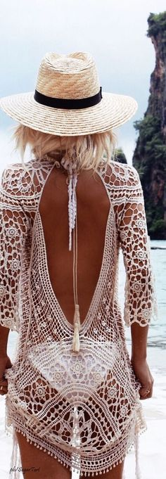 I actually have a dress just like this. Be sure to use sunscreen or you might en...