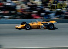 McLaren year #2 . . . and records . .  Peter Revson on the Pole