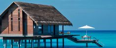 One & Only - Maldives  http://reethirah.oneandonlyresorts.com/default.aspx