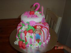 - Strawberry Shortcake Cake