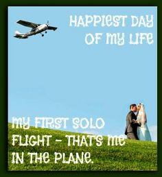 Do you remember your first solo? Aviation Quotes, Aviation Humor, Aviation Art, Pilot Humor, Pilot Quotes, Cessna 172, Military Memes, Pilot Training, Airplane Pilot