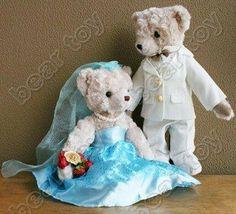 Wedding Teddy Bears | COUPLE-OF-WEDDING-TEDDY-BEARS-IN-WEDDING-PRETTY.jpg