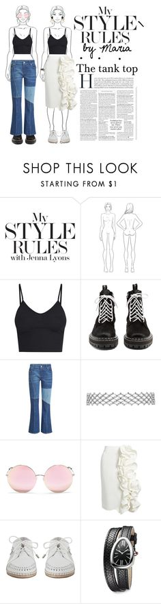 """Tank top"" by lim1976 ❤ liked on Polyvore featuring Proenza Schouler, Alexander McQueen, Matthew Williamson, Brock Collection, Zimmermann, Bulgari and Marni"