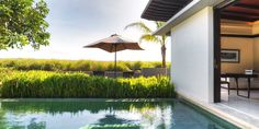 Alila Villas Soori: Mountain Pool Villas look out over the surrounding rice paddies and hills.