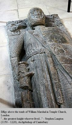 """William Marshal, Earl of Pembroke """" The greatest knight"""" he served under 2 kings and was a regent to a third it would be so interesting to hear his tales of medieval England European History, British History, Ancient History, Uk History, Asian History, Tudor History, Ancient Aliens, History Facts, Family History"""