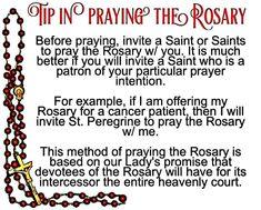 Rosary, pray it with a Saint Praying The Rosary Catholic, Catholic Beliefs, Rosary Prayer, Holy Rosary, Catholic Quotes, Faith Prayer, God Prayer, Catholic Prayers, Religious Quotes