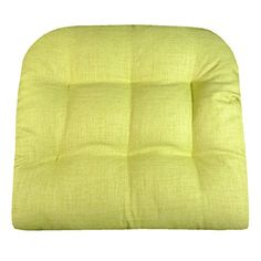 Barnett Products Patio Chair Cushion   Rave Solid Color Woven Fabric    Indoor / Outdoor:
