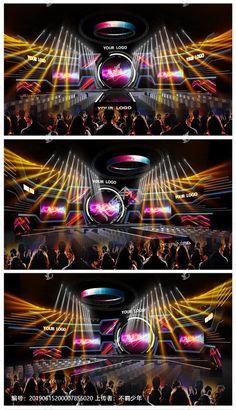 炫彩舞台效果图-汇图网 www.huitu.com Tv Set Design, Stage Set Design, 3d Design, Concert Stage Design, Stage Lighting Design, Exhibition Booth Design, Backdrop Design, Light Music, Stage Decorations