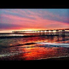 Sunset from last night. Hermosa Beach
