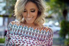 looksly - Camila Milagres com vestido estampado do Verão 2016