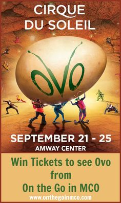 Win Tickets To See O
