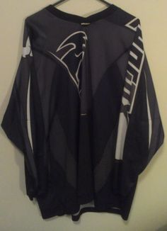 Thor Phase Jersey Dirt Bike 3XL Long Sleeve Shirt Black/Gray
