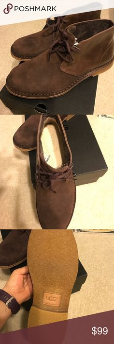 UGG MEN SHOES sz 10 Brand-new in box UGGs shoes size 10 they retail $165 UGG Shoes Boat Shoes