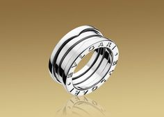 B.ZERO1 ring in 18kt white gold, 3 bands (would love to see this with 5 bands).