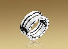 Bulgari B.ZERO1 ring in 18kt white gold. AN191024 Regalo de luna de miel, París 2001