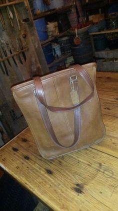 Vintage Coach Bonnie Cashin shoulder bag british tan #Coach #ShoulderBag