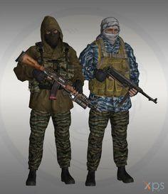 First chechen war - Spetsnaz by Bringess