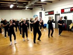 """silversneakers senior fitness class routine to """"wonderful"""