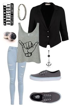 """""""Untitled #244"""" by ticci-toby ❤ liked on Polyvore featuring CREAM, Miss Selfridge, Vans, CellPowerCases and INDIE HAIR"""