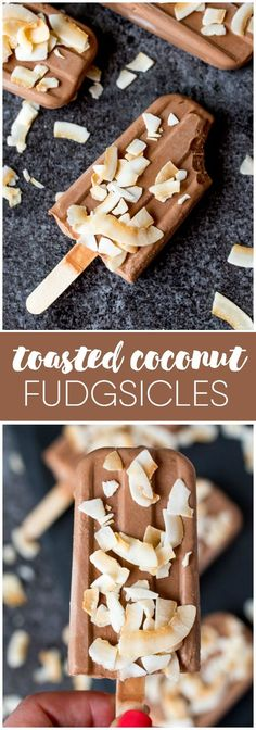 Toasted Coconut Fudg
