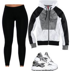 Untitled #498 by prettygirlnunu on Polyvore featuring H&M and NIKE