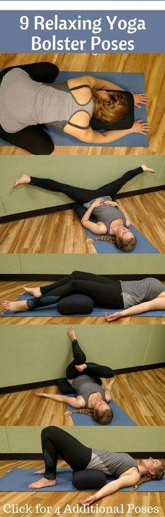 9 Relaxing Yoga Bolster Pillow Poses – Medi Idea