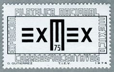Stamp MEXICO 1974