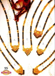 Bridal Jewelry, Beaded Jewelry, Gold Jewelry, India Jewelry, Statement Jewelry, Jewelry Bracelets, Gold Necklace, Gold Mangalsutra Designs, Gold Earrings Designs