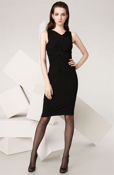 This great DK LBD has a convertible top you can wear it three different ways.