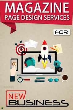 Magazine Designing Services - New Business