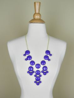 Large Purple Bubble Necklace - $27.00 : FashionCupcake, Designer Clothing, Accessories, and Gifts