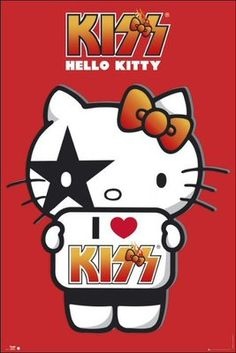 Hello Kitty Kiss (I Love) - Maxi Poster