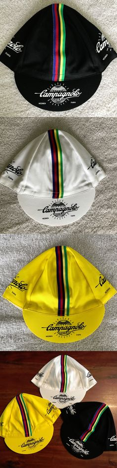 Hats Caps and Headbands 158994: Classic Cycling Cap New Bike Ride Hat Black, White, Yellow Or Trio *** BUY IT NOW ONLY: $52.95