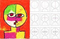 How to Draw a Klee Style Portrait - À la manière de Klee