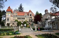 Amazing Architecture, Hungary, Budapest, Terrace, Villa, Exterior, Mansions, House Styles, Castles