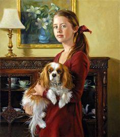Ellen Cooper - Maura with Lily