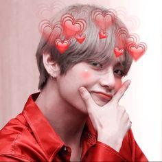 ((i c o n s ))☁ - Taehyung(¡! Foto Bts, Bts Taehyung, Btob, Bts Emoji, Frases Bts, Bts Kim, V Bts Cute, Bts Meme Faces, Kawaii