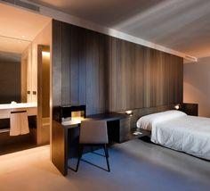 #bedroom headboard idea and connects to study desk. Image from Palacio Marqués de Caro > Valencia (Spain)